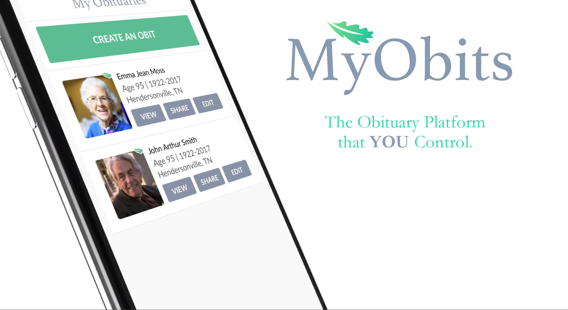 Myobits Giving The Obituary Back To The People